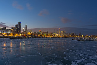 Chicago in Winter No. 3186