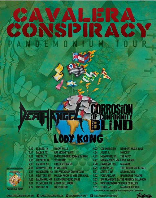 Cavalera Conspiracy at Baltimore Soundstage