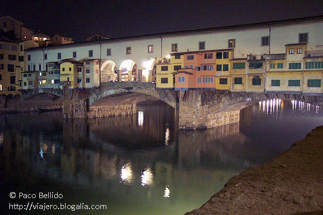 Ponte Vecchio. © Paco Bellido, 2003