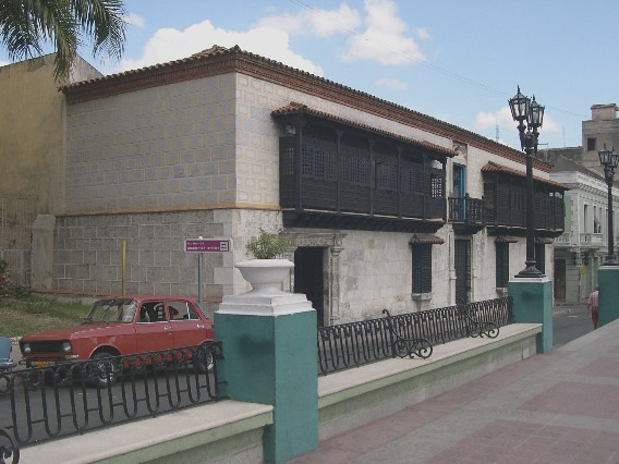 The house of the Diego Velázquez de Cuéllar in Cuba