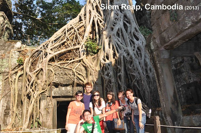Siem Reap, Cambodia Day 2 - Ta Prohm Temple 06