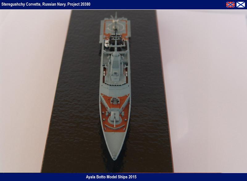 Corvette Russe Steregushchy 530, Project 20380 - Gwylan Models / Combrig 1/700 16623779742_0384455fe8_b