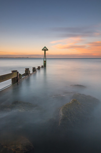 uk longexposure sunset sea england sky seascape clouds evening coast seaside colours harbour dusk calm northumberland coastal filter le northsea slowshutter coastline northeast groyne haida seatonsluice northeastengland 10stop d7100 tokina1116 nikond7100 haida10stop