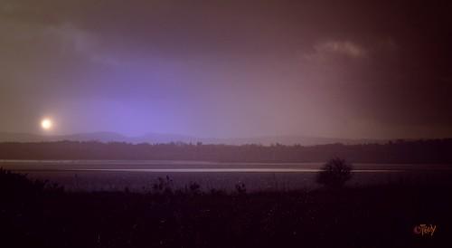 sunset sky cloud sun water liverpool river dark landscape silhouettes mersey garston welshhills