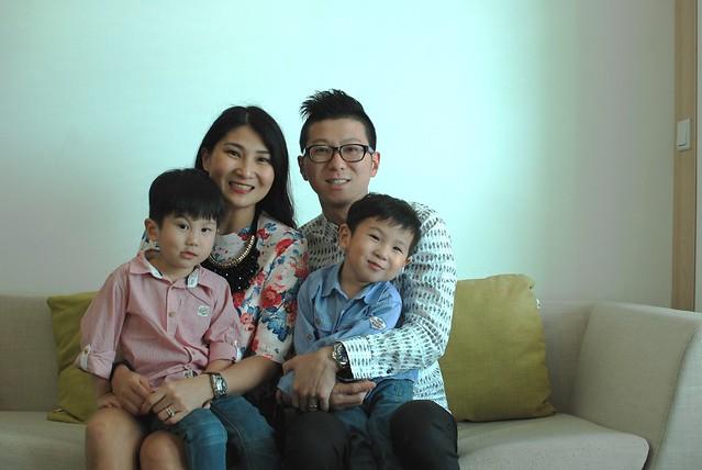 Choo Family Photo 2015 with Jerry smirking
