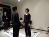 """Tinderbox@mobius Feb. 21, 2015, JASMIN SCHAITL AND WILLIAM """"BILWA"""" COSTA with Sara June and Yuka Takahashi photo ©JRICE"""