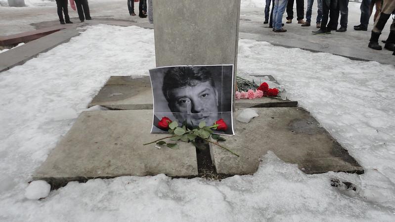 Прошание с Борисом Немцовым