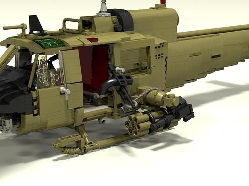 UH-1C Huey Hog armament