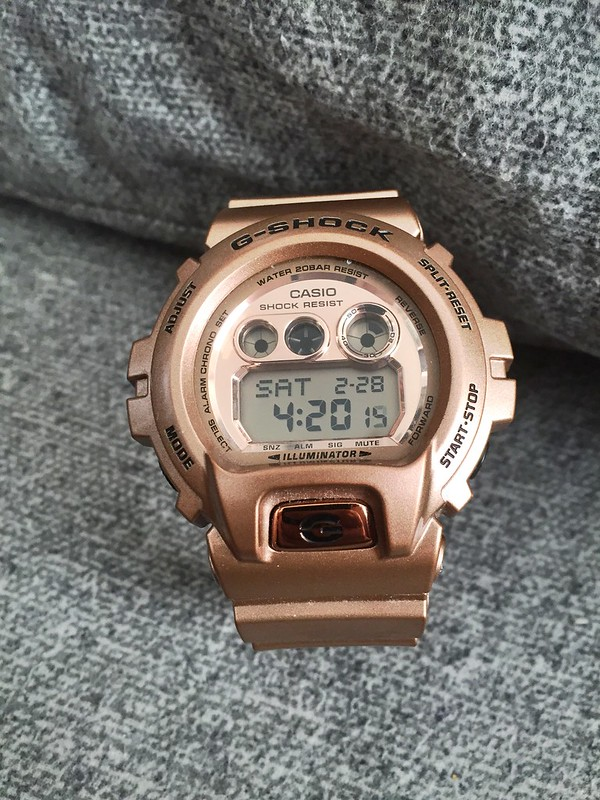 G Shock Rose Gold