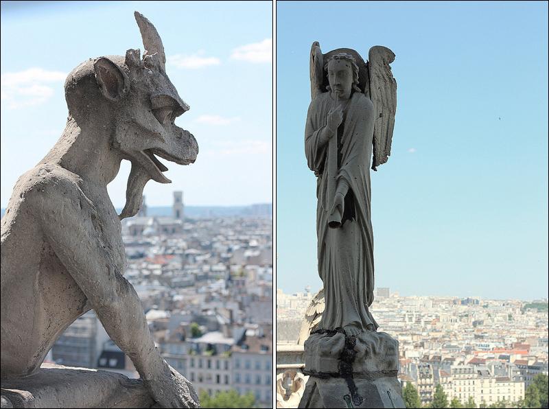 Notre Dame de Paris chimeres