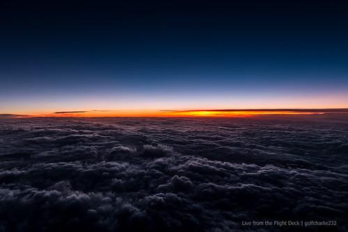 Good night from Flight Level 380