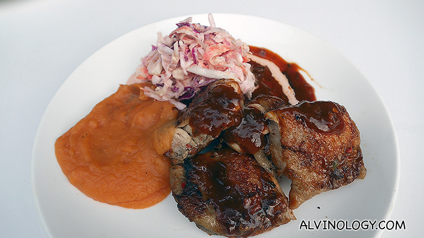 Grilled Jerk Chicken With Scotch Bonnet Sauce And Mango Chutney Recipe ...