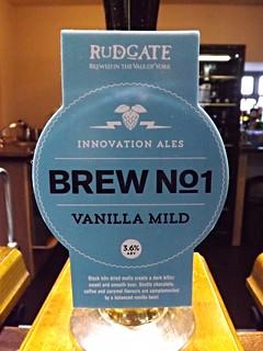 Rudgate, Brew No1 Vanilla Mild, England
