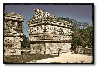 Chichén Itzá MEX - Iglesia west side 03
