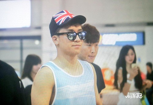 Seung Ri - Incheon Airport - 02aug2015 - Just_for_BB - 04