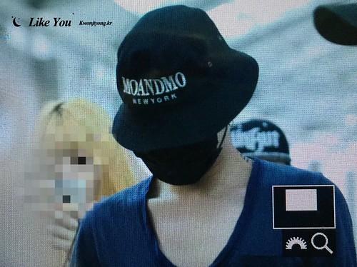 Big Bang - Incheon Airport - 05jun2016 - Forever TiAmo GD - 07