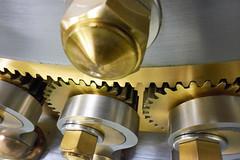 Vault's locking mechanism.