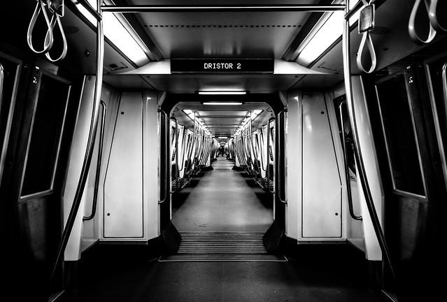 Metro in Bucharest, Romania