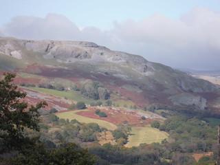 Cribarth Plateau from across Cwm Tawe