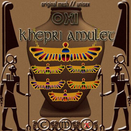 ::OXI:: Kephri Amulet