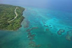 lagoon, atoll, sea, ocean, bay, island, coast, islet,