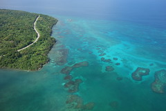 coral reef(0.0), archipelago(0.0), marine biology(0.0), reef(0.0), lagoon(1.0), atoll(1.0), sea(1.0), ocean(1.0), bay(1.0), island(1.0), coast(1.0), islet(1.0),