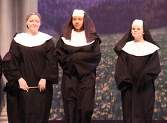 abbess, nun, musical theatre, woman, female, person,