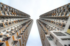 High living in Hong Kong
