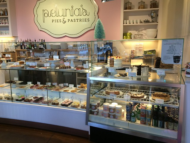 Petunia's Pies and Pastries dessert case_ Portland Oregon gluten-free vegan