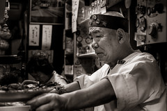 Yakitori chef 1 BW