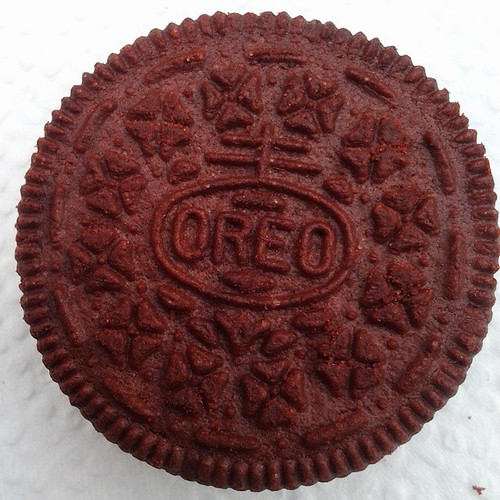 #redvelvet Oreo up close.