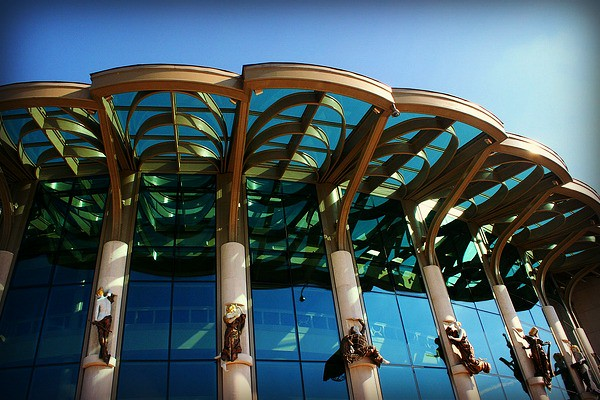 National Theatre #budapest #Europe #Travel #Eastern
