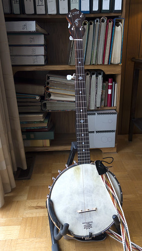 Ome Banjo Front View