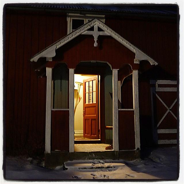 Lys i gamle hus #lysigamlehus #molund...