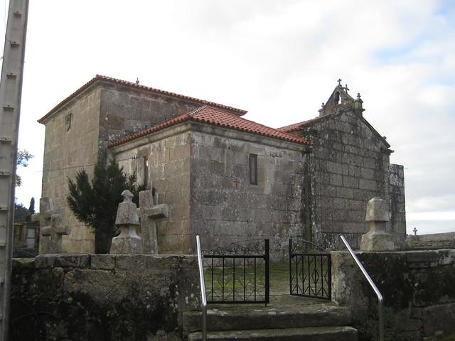 Iglesia de Paraños en Covelo