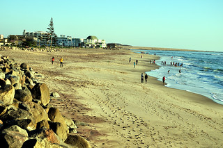 Image of Strand Beach Beach with a length of 710 meters. namibia