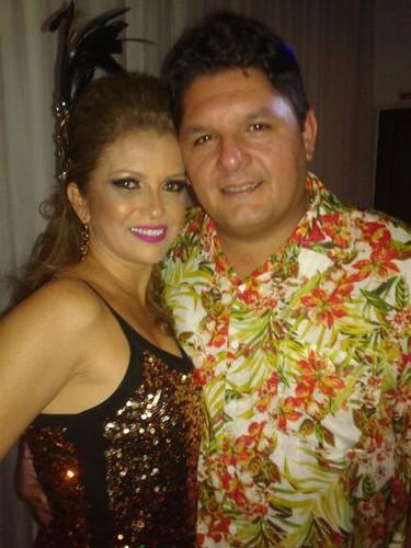 Andréa e Luís Carneiro Filho