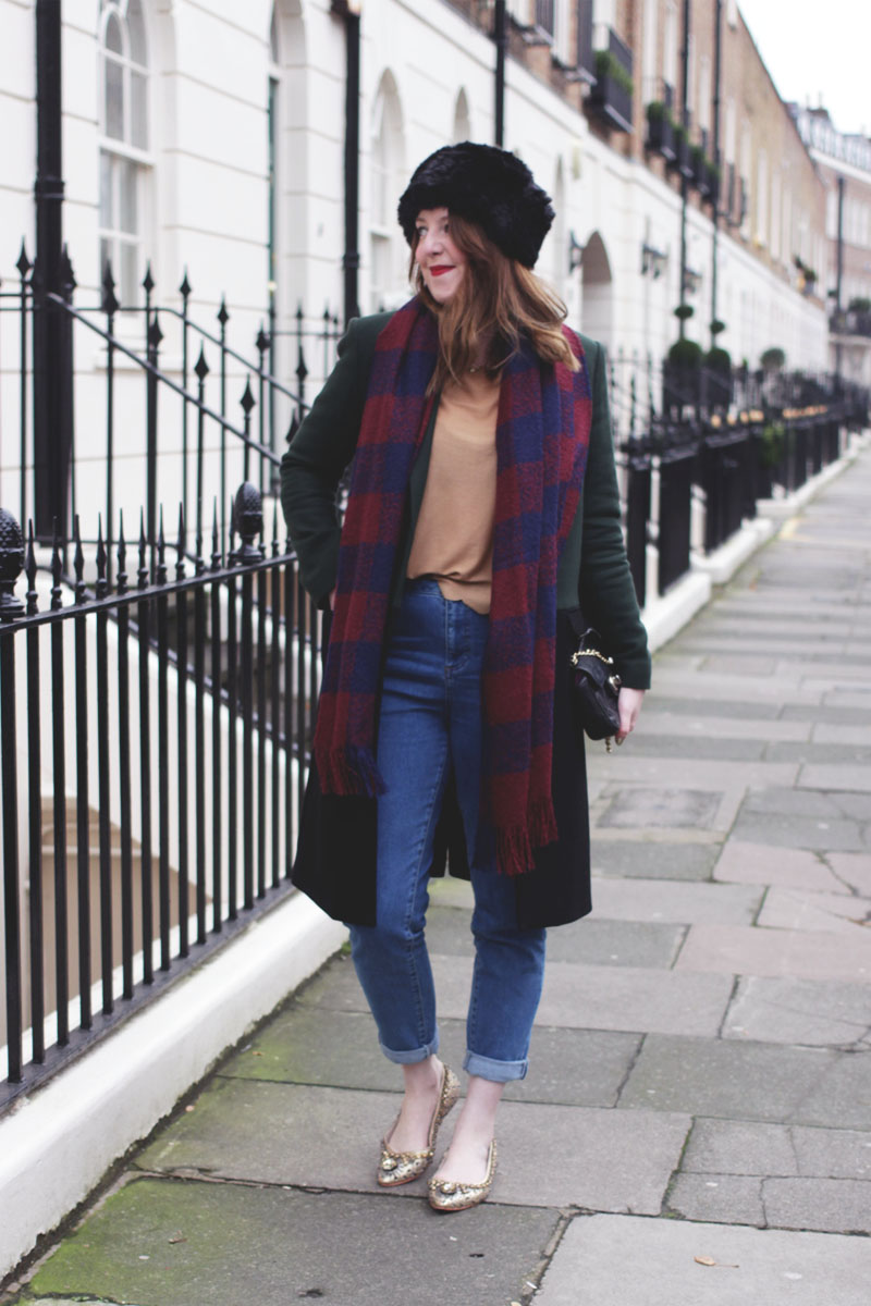 January Blues outfit, Bumpkin Betty