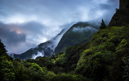 mountain forest hawaii maui iaovalley flickrchallengegroup