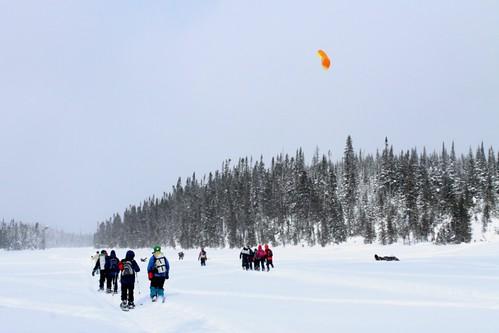 Journee de cerf-volant sur le lac Martin-Valin