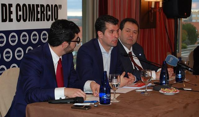 """Luis Tudanca en el Foro """"Hablemos de Comercio"""" de AESCO"""