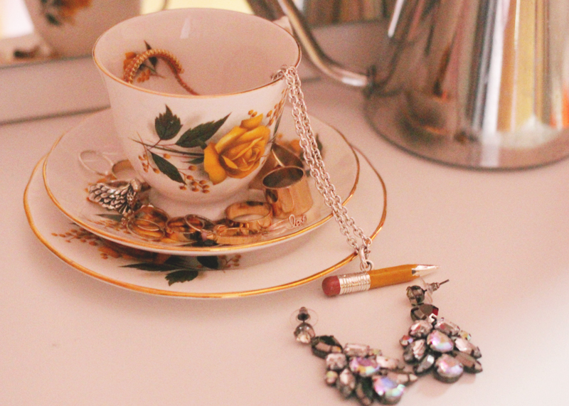 vintage teacups, Bumpkin Betty