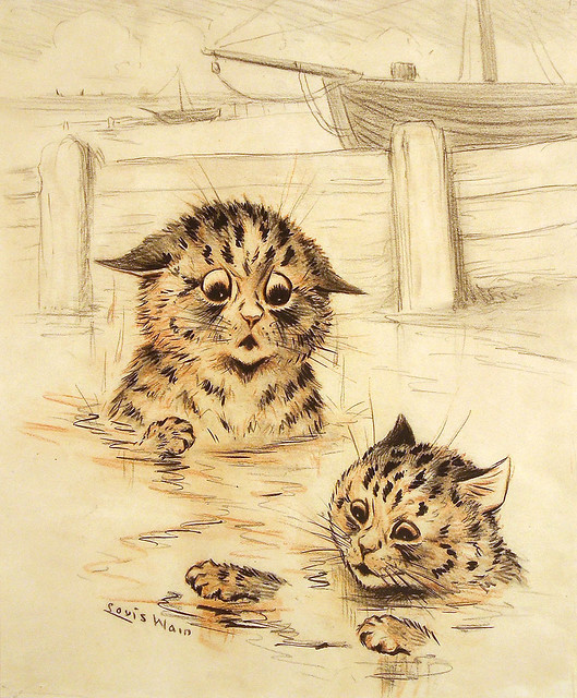 005- Louis Wain-via .baronfineart.co.uk