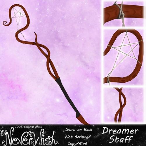 *NW* Dreamer Staff