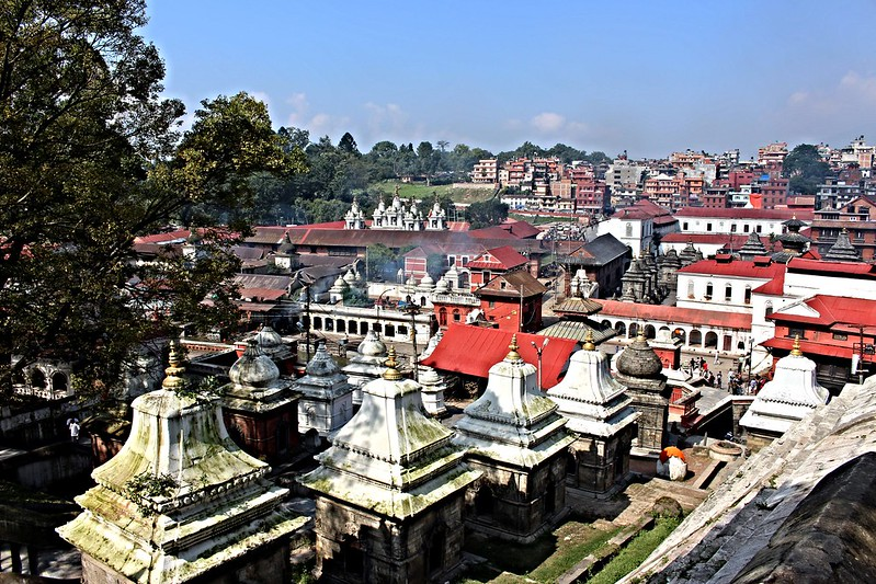 Line of Stupas