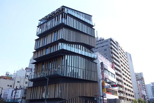 """Asakusa_1 """"浅草文化観光センター"""" の建物の写真。"""