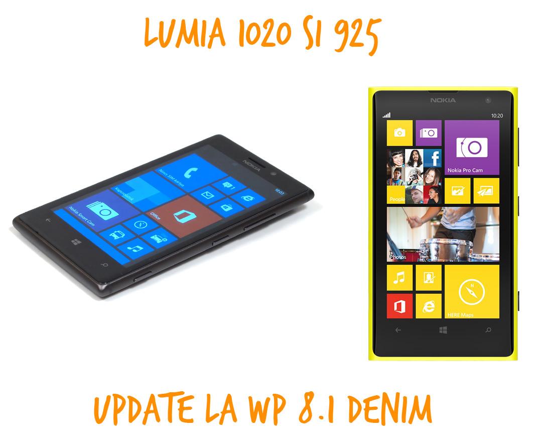 Lumia 925 si 1020