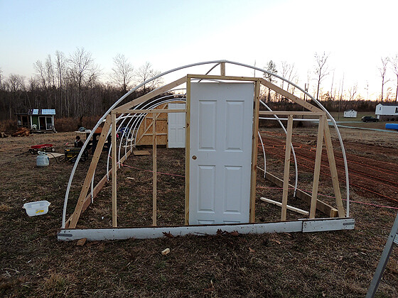 DIY PVC Greenhouse 12
