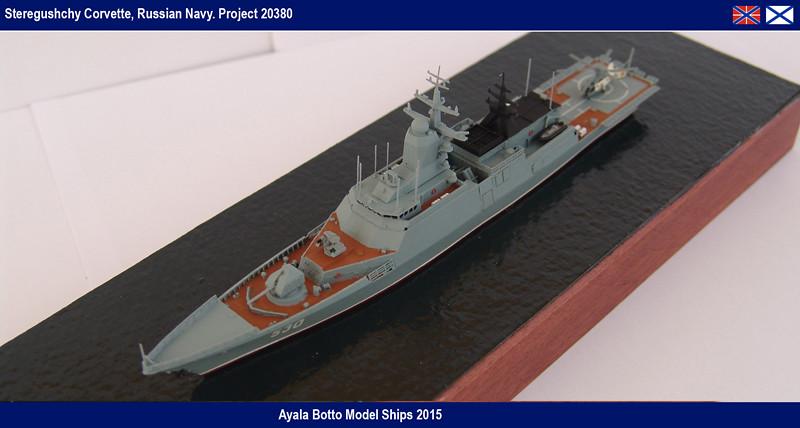 Corvette Russe Steregushchy 530, Project 20380 - Gwylan Models / Combrig 1/700 16417151007_3846e912ce_b