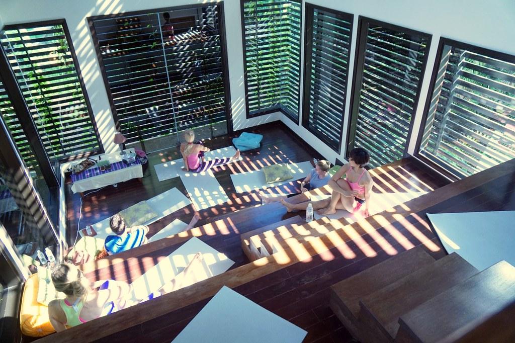 gaya island resort sabah malaysia - review - yoga